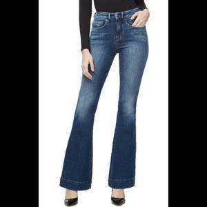 GAP 1969 Flare Blue Jeans Denim Long & Lean 4 P